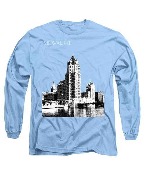Milwaukee Skyline - 4 - Coral Long Sleeve T-Shirt