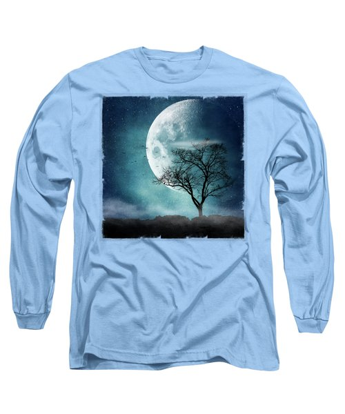 Moon Blues Long Sleeve T-Shirt