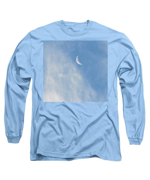 Moon In Libra - Crescent Farewell Long Sleeve T-Shirt