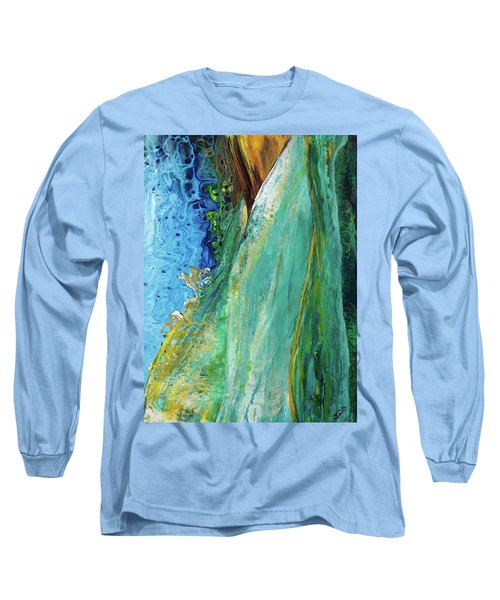 Mother Nature - Portrait View Long Sleeve T-Shirt