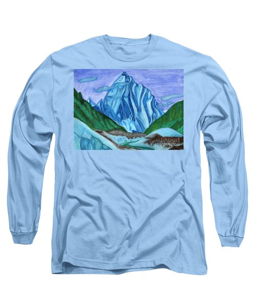 Snow Peak Above The Clouds Long Sleeve T-Shirt