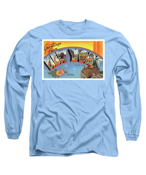 New York Greetings - Version 4 Long Sleeve T-Shirt
