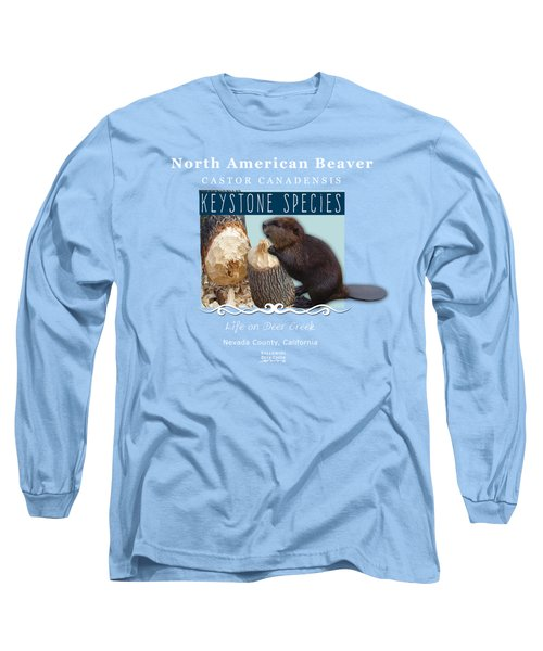North American Beaver Long Sleeve T-Shirt