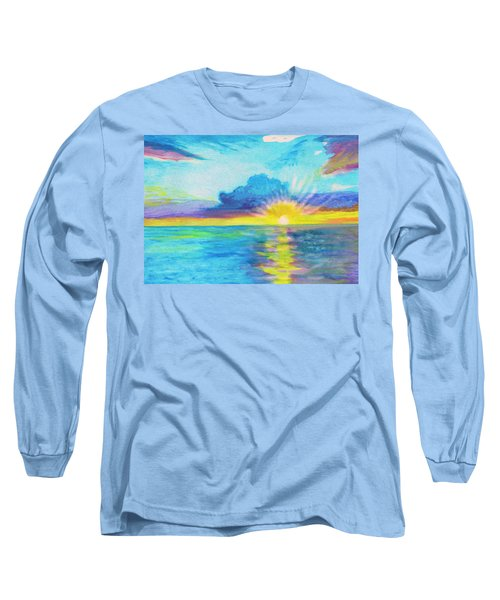 Ocean In The Morning Long Sleeve T-Shirt