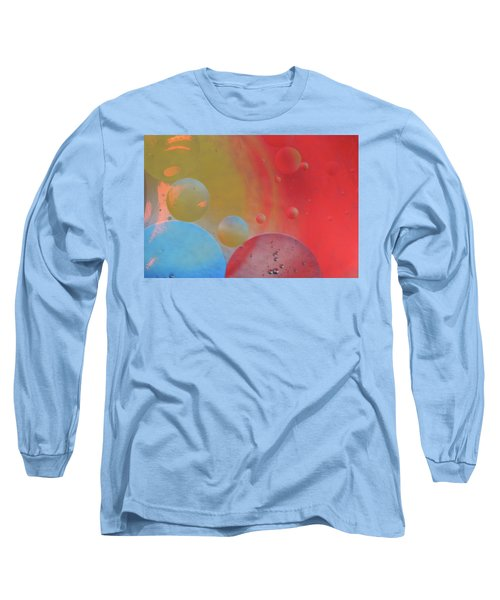 Oil And Color Long Sleeve T-Shirt
