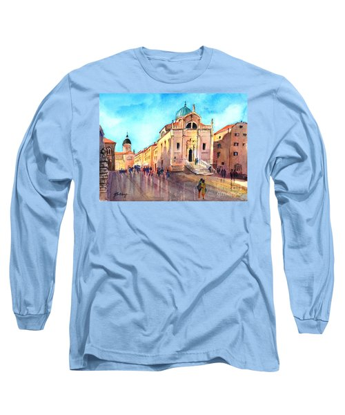 Old City Of Dubrovnik Long Sleeve T-Shirt