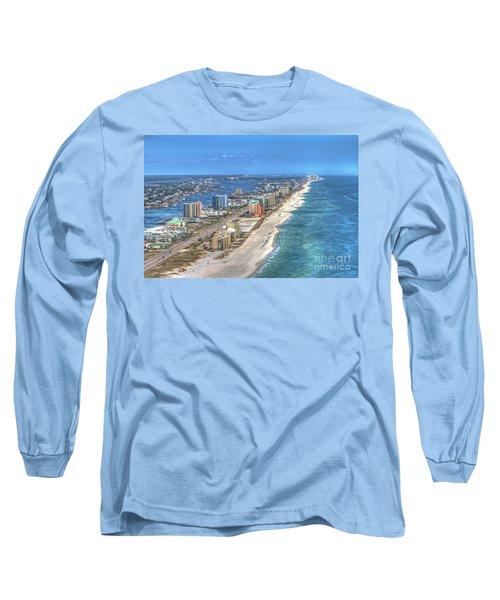 Orange Beach East Long Sleeve T-Shirt