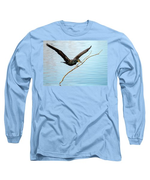 Over-achieving Cormorant Long Sleeve T-Shirt