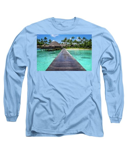Rangiroa, Tuamotu - Paradise On Earth Long Sleeve T-Shirt