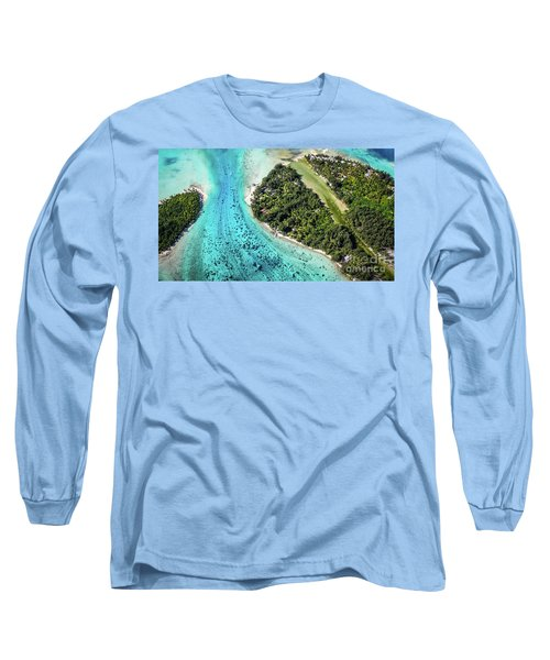 Bora Bora - Pathway To The Ocean Long Sleeve T-Shirt