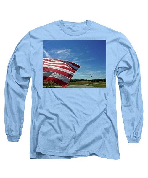 Peaceful Summer Day Long Sleeve T-Shirt