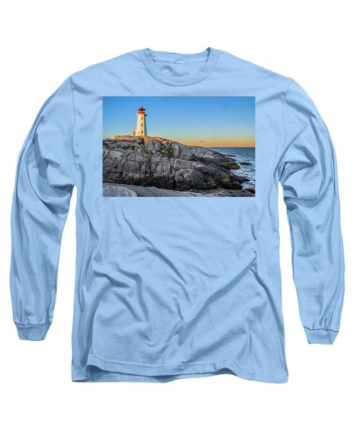 Peggys Cove Lighthouse Long Sleeve T-Shirt