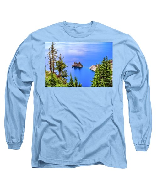 Phantom In Blue Long Sleeve T-Shirt
