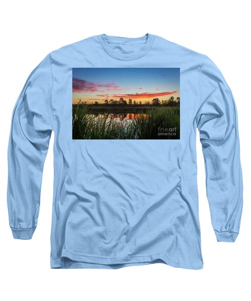Phinizy Swamp Sunrise - Augusta Ga Long Sleeve T-Shirt