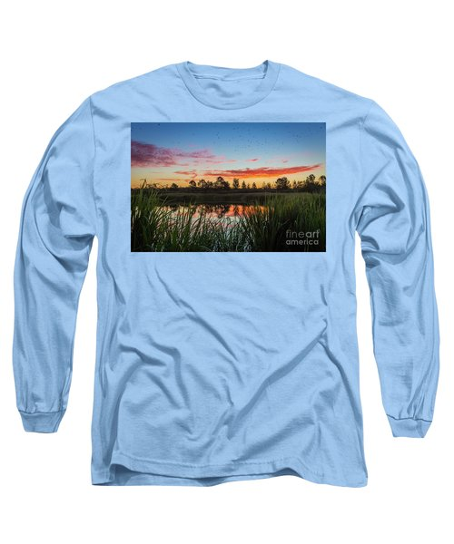 Phinizy Swamp Sunrise - Augusta Ga Long Sleeve T-Shirt