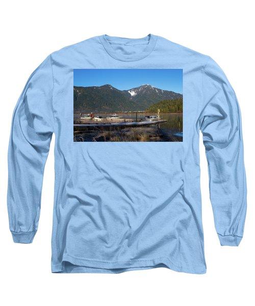 Pitt Lake Winterimpression Long Sleeve T-Shirt