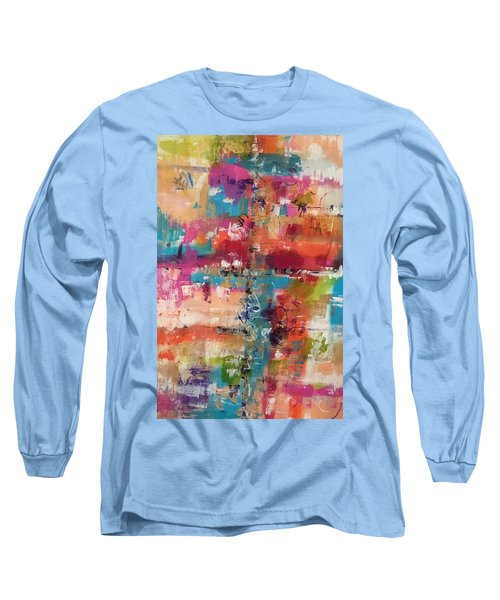 Playful Colors Long Sleeve T-Shirt