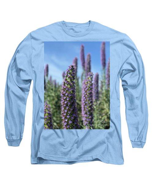 Purple Hyssop  Long Sleeve T-Shirt