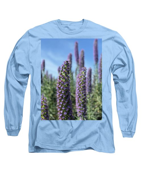 Purple Hyssop  Long Sleeve T-Shirt