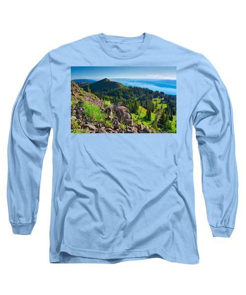 Purple Vista Long Sleeve T-Shirt