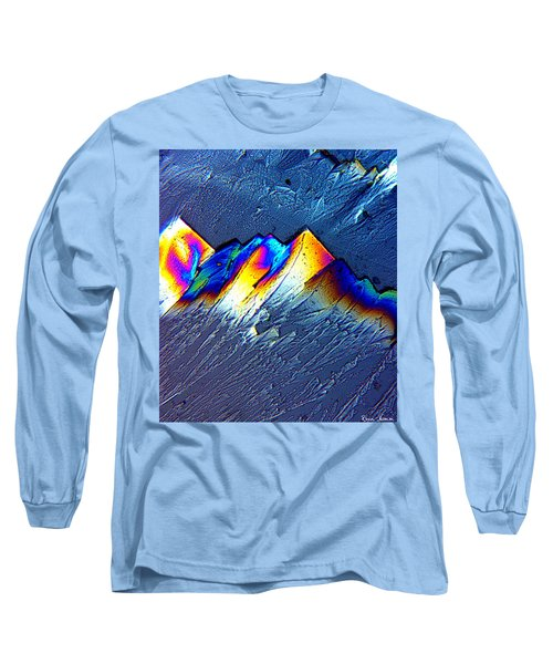 Rainbow Mountains Long Sleeve T-Shirt
