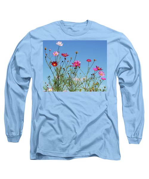 Reach For The Cosmos Long Sleeve T-Shirt