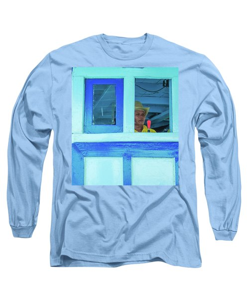Ready To Go Into Warp Drive Long Sleeve T-Shirt