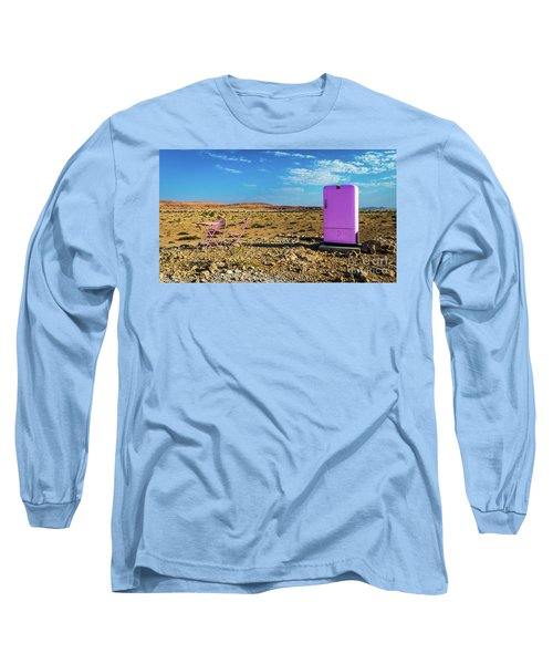 Refreshments Pit Stop In The Middle Of Nowhere Long Sleeve T-Shirt