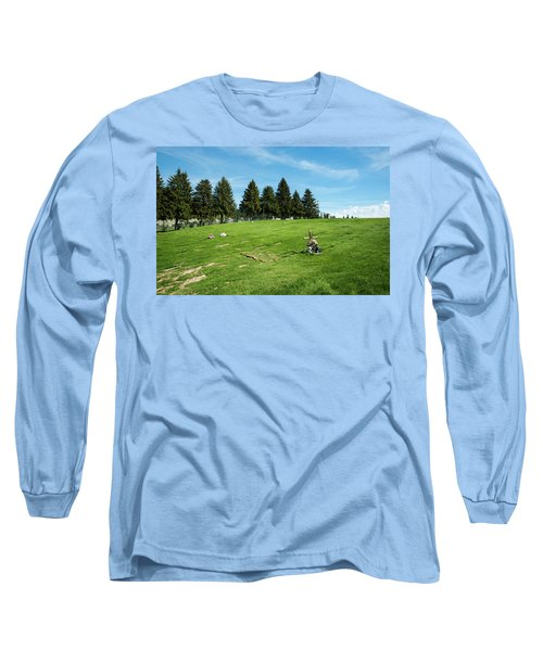 Remembering A Child In Peshastin Long Sleeve T-Shirt