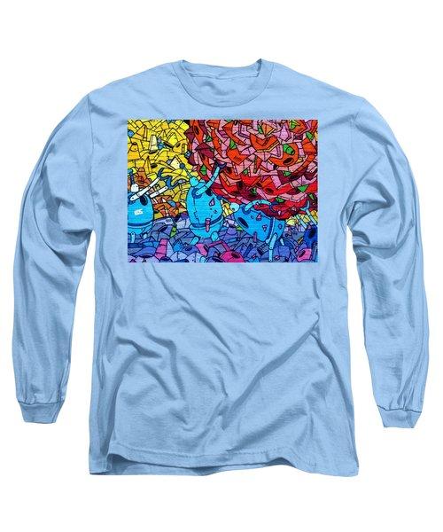 Robot Cleaner Long Sleeve T-Shirt
