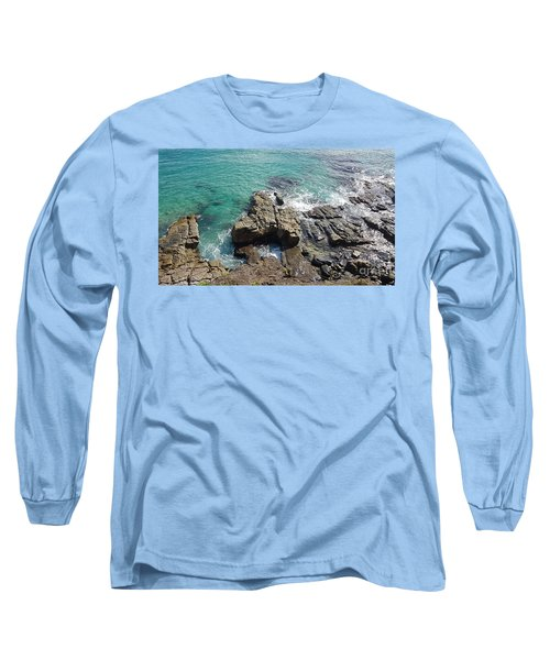 Rocks And Water Long Sleeve T-Shirt