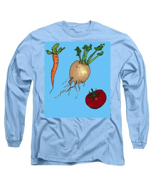 Root Vegetables Long Sleeve T-Shirt