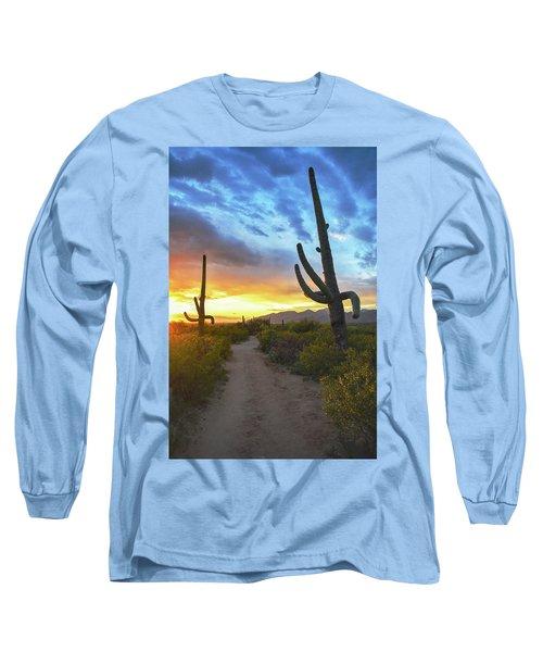 Saguaro Trail Long Sleeve T-Shirt