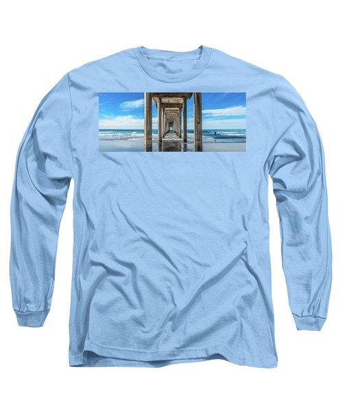 Scripps Pier La Jolla California Long Sleeve T-Shirt