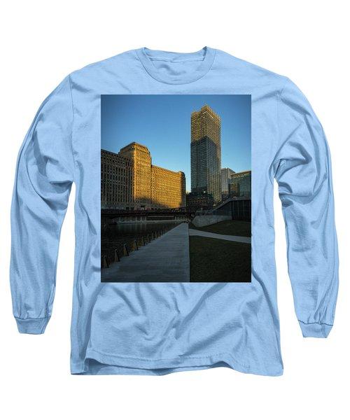 Shadows Of The City Long Sleeve T-Shirt