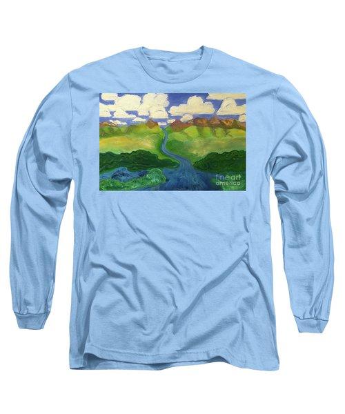 Sky River To Sea Long Sleeve T-Shirt