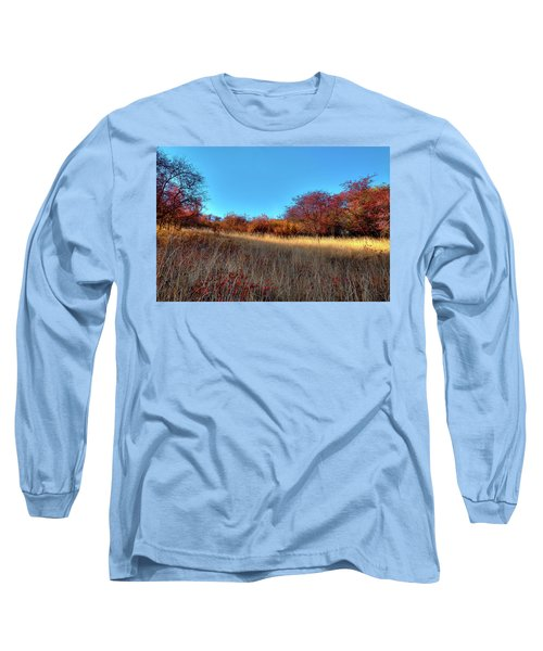 Long Sleeve T-Shirt featuring the photograph Sliver Of Sunlight by David Patterson