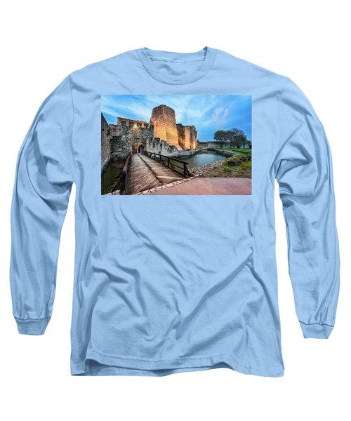 Smederevo Fortress Gate And Bridge Long Sleeve T-Shirt