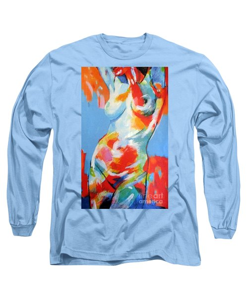 Splash Of Desire Long Sleeve T-Shirt