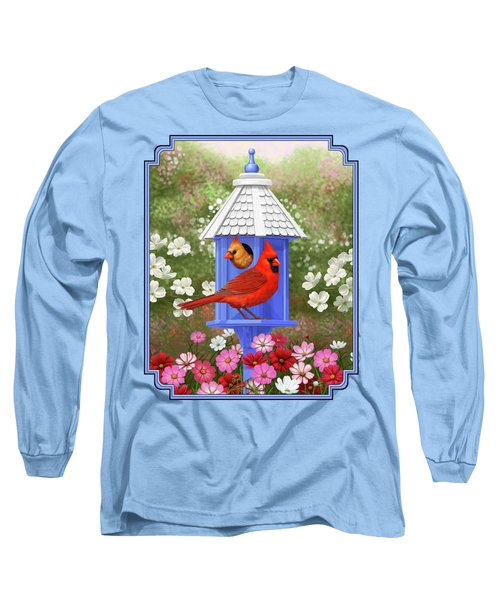 Spring Cardinals Long Sleeve T-Shirt
