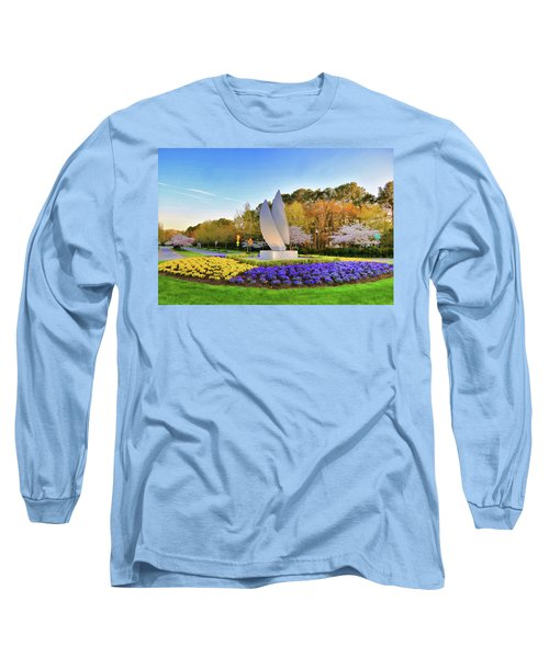 Springtime At Christopher Newport University Long Sleeve T-Shirt