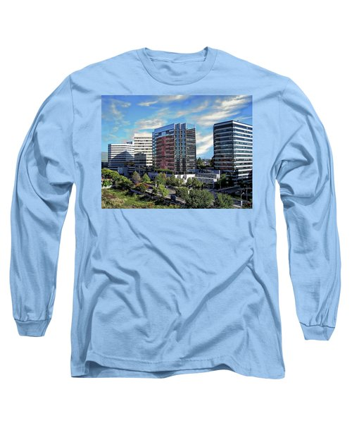 Stamford Business District Long Sleeve T-Shirt