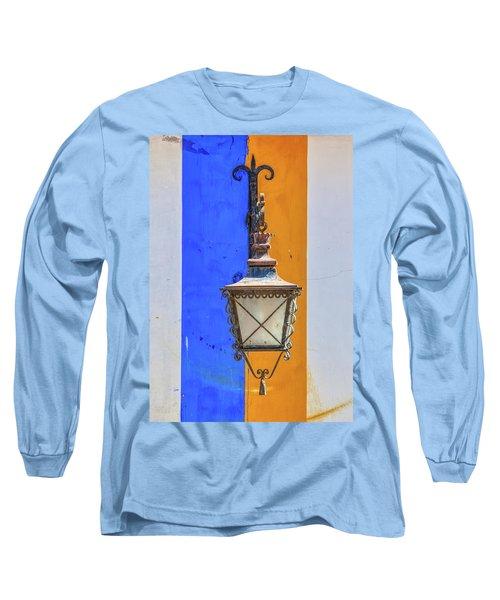 Street Lamp Of Obidos Long Sleeve T-Shirt