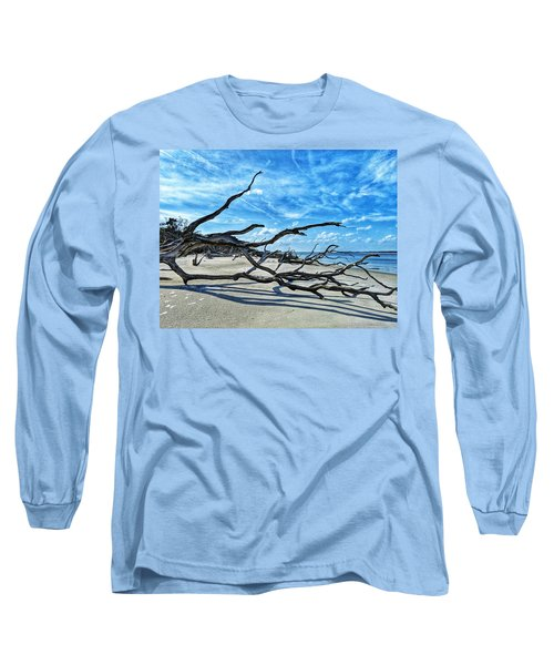 Stretch By The Sea Long Sleeve T-Shirt
