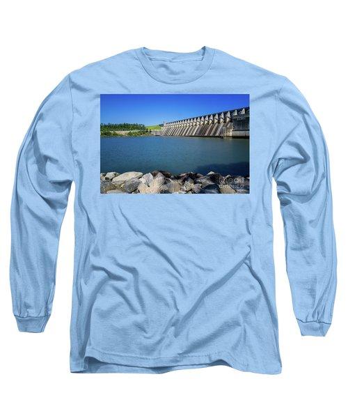 Strom Thurmond Dam - Clarks Hill Lake Ga Long Sleeve T-Shirt