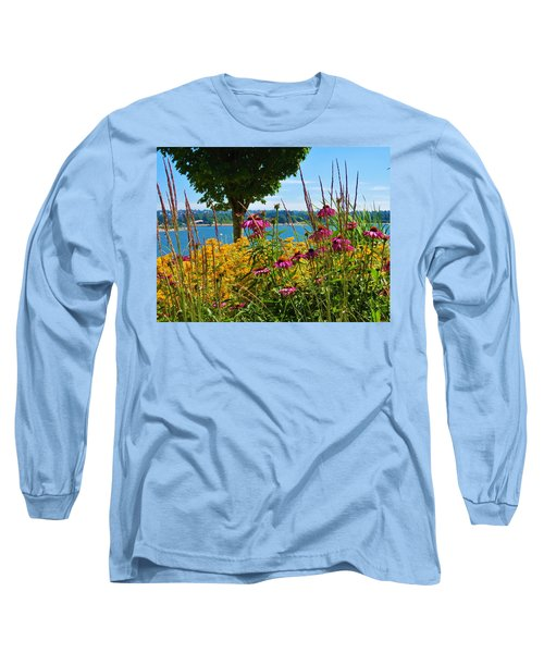 Summer Flowers Vancouver 1 Long Sleeve T-Shirt