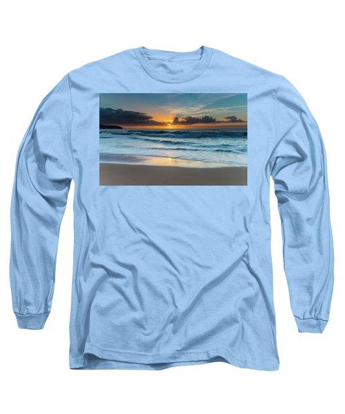 Sun Glow Seascape Long Sleeve T-Shirt