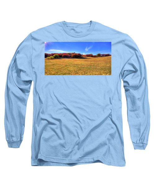 Long Sleeve T-Shirt featuring the photograph Sun On Magpie Forest by David Patterson