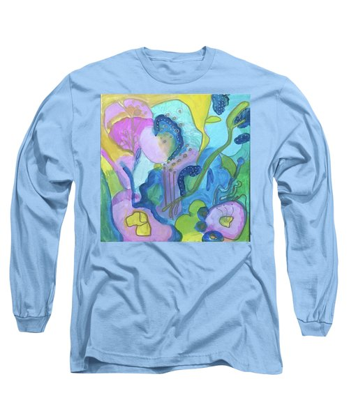 Sunny Day Abstract Long Sleeve T-Shirt