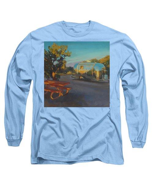 Sunrise In Navajo Monument Long Sleeve T-Shirt